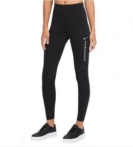 Nike Sportswear Women's Swoosh High Rise Leggings Black RRP £34.99