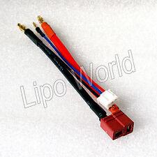 4mm Bananenstecker auf Deans T Buchse Hardcase 2s Adapter Lade Kabel LiPo Akku