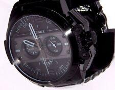 Original Diesel DZ4362 Herren Uhr Chronograph Edelstahl Schwarz Armbanduhr NEU !