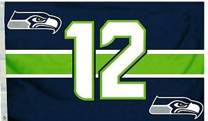 SEATTLE SEAHAWKS   NFL FLAG BANNER: FAST FREE SHIPPING
