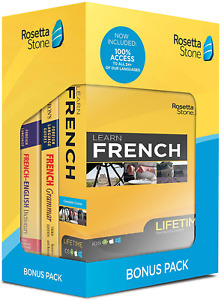 Learn French Bonus Pack Bundle  Online Access + Grammar Guide + Dictionary Book