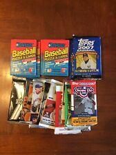Lot Of 15 Packs Baseball Upper Deck Fleer Topps Donruss 89 05 07 08 09