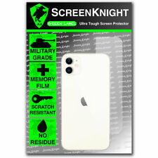 ScreenKnight Apple iPhone 11 Back SCREEN PROTECTOR Military Shield - CURVED
