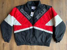 Champion Chicago Bulls Zip up Puffer Jacket Vtg w/tags Sz XL