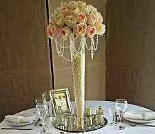 2 X LARGE Tall CONICO VASO 60 CM wedding tavolo evento decorazione EF