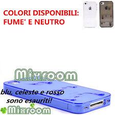 CUSTODIA COVER CASE IN SILICONE TPU GEL PER APPLE IPHONE 4 4S ICE CREAM GELATO