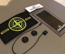 Stone Island Badge/Patch Sew On With 2 x Buttons Label And Tag Replacement Drake