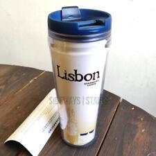 Starbucks Coffee Lisbon Tumbler 2004 global icon original tag Lisboa 12 oz Rare
