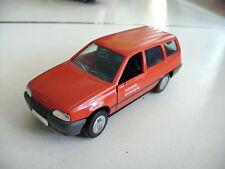"""Gama Opel Kadett E Caravan """"Siemens Beveiliging"""" in Red on 1:43"""