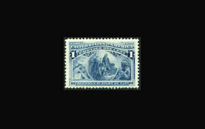 US Stamp Mint original gum never hinged, XF/Super b S#230-HUGE MARGINS all sides
