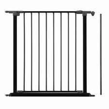 BabyDan configure porte de sécurité et Flex Baby Gate 72 Cm Panneau de porte Extension Noir