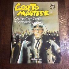 CORTO MALTESE - PRATT - LA MAISON DOREE DE SAMARKAND EDITION ORIGINALE