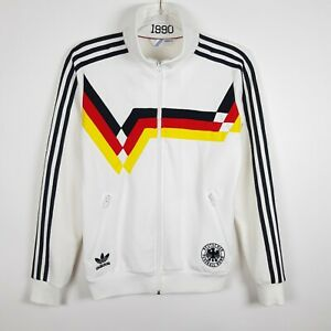 Adidas 1990 FIFA World Cup 2010 Germany Football Soccer Track Jacket M White