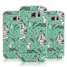 Mermaid Patterned Rigid Plastic Mobile Phone Cases/Covers
