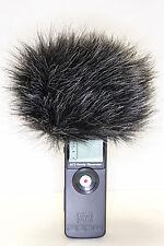Fur windscreen as WSU-1 for recorder Zoom H1 fur  windcut Windschutz  Wind cover