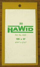 2 PACKS OF HAWID MOUNTS 105MM  X 57MM - CLEAR    FREE SHIPPING       #HAW-10557C