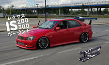 Vertex V2 Front Bumper - for Toyota Altezza | Lexus IS200 IS300 | SXE10