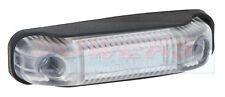 Montaje en superficie 12V/24V Blanco LED Marcador Lámpara/Luz delantera camión van camión rejilla