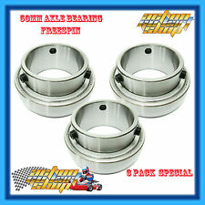 GO KART 50MM AXLE BEARING STANDARD (3) THREE RACE BEARING PACK SB208-50/ZZC4 NEW
