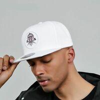 White Baseball Cap Men Women Sports Hat Adjustable Snapback Hip Hop Outdoor Flat