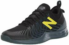 New Balance Men's Fresh Foam Lav V1 Hard Court Tennis Shoe, Black/Iodine Violet,