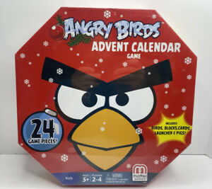 NEW | RARE 2013 Angry Birds Advent Calendar Game Factory Sealed Launcher Figures