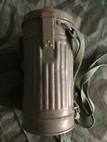 WW2 WWII GERMAN GAS CANISTER  BOX CASE WEHRMACHT ORIGINAL