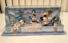 Mickey's Christmas Carol Figures Mickey Minnie Disney Store Damaged Package