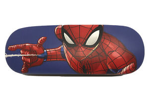 NEW Marvel Spider-Man Kid's Small Adults Hard Clamshell Eyeglasses Case