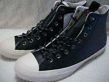 Converse 162386C CTAS Hi Black Leather Men's 11 - Women's 13