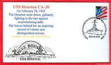 USS Houston CA-30 60th anniversary Feb.28,1942 fighting to the last gallantly