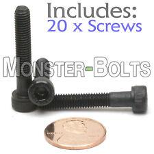 (20) M5 - 0.80 x 30mm - Socket Head Caps Screws 12.9 Alloy Steel Black Oxide 5mm