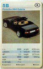 Cuarteto tarjeta individuales-Porsche 944 convertible-art.nr.556