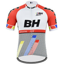 Retro BH SPORT Cycling Jersey Cycling Short Sleeve Jersey