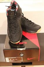 Nike Lebron James 11 XI Low Black/Gum Hyper Crimson 642849078 US 9 Deadstock
