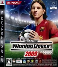 World Soccer Winning Eleven 2009 Sony PS3 PlayStation 3 Japan Import