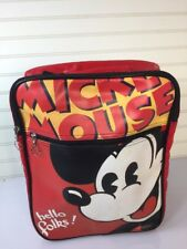 Disney Mickey Mouse Hello Folks! Messenger Bag Adj Strap Shoulder Purse Hobo
