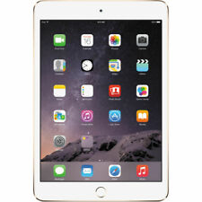 New Apple 16GB iPad Mini 3 Wi-Fi Tablet Gold Sealed Retail Box 16 GB MGYE2LL/A