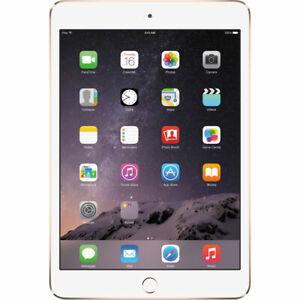 New Apple 16GB iPad Mini 3 Wi-Fi Tablet Gold Sealed Retail Box 16 GB MGYE2LL/A