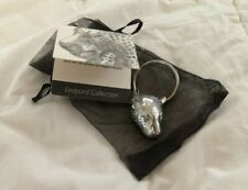 Leopard Key Ring Chain Pewter African Designer Jewelry Jenna Clifford