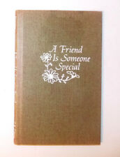 C.R. Gibson A Friend Is Someone Special Gift Book 1975