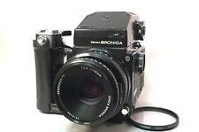 Zenza Bronica ETRC w Zenzanon PE 75mm F/2.8 Lens AE Finder #0448