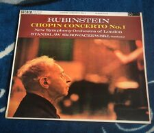 CHOPIN / RUBINSTEIN CONCERTO No1' SKROWACZEWSKI UK LP RCA  SB 2145