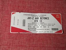 JAY-Z AND BEYONCE used tickets X1,6TH JUNE 2018,PRINCIPALITY STADIUM,CARDIFF,(5)