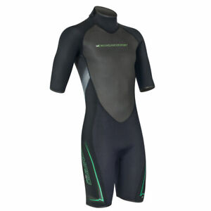 46 -4XL SKINFOX LEADER II Shorty S Herren Neoprenanzug Wetsuit Surfanzug oli 58