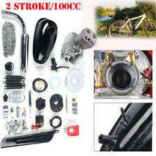 Full Set 100cc Bike Motorized 2 Stroke Petrol Gas Motor Engine Kit 3.2KW 48km/h