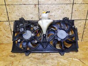 09 10 11 12 13 MAZDA 6 2.5L RADIATOR COOLING FAN ASSEMBLY OEM