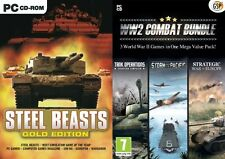 Steel beasts gold & ww2 combat bundle tank opérations & storm over the pacific & 1 plus
