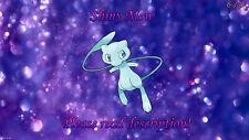 Shiny Mew 6 IV lv. 1 - Pokemon Let's Go Pikachu/Eevee Sword/Shield
