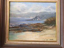 Vintage Oil On Board Signed Firenze E.Fitzpatrick,Hyams Beach